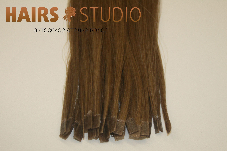 Славянские волосы на кератиновой капсуле 55-60 см.