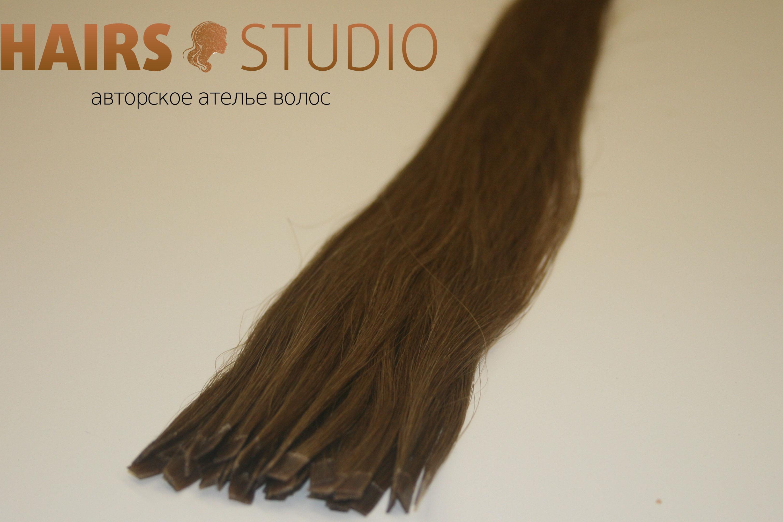 Южно-русские волосы на кератиновой капсуле 55-60 см.