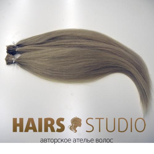 Славянские волосы на кератиновой капсуле 60-65 см.
