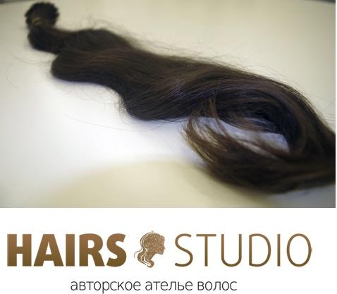 Славянские волосы в срезе 60 см