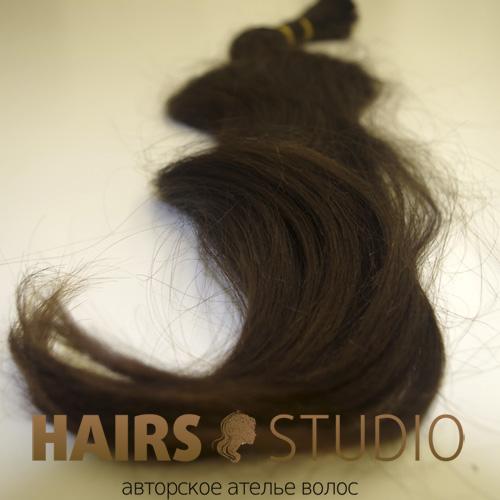 Славянские волосы в срезе 65 см