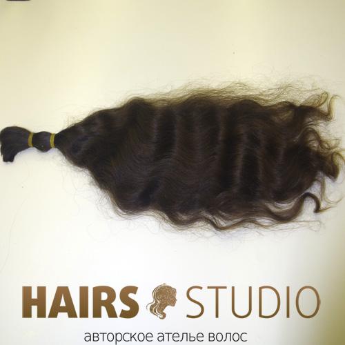 Славянские волосы в срезе 50 см