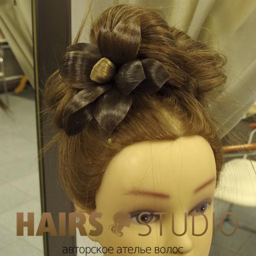 Украшение из волос 2