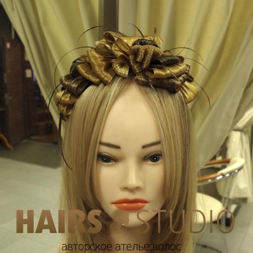 Украшение из волос 1