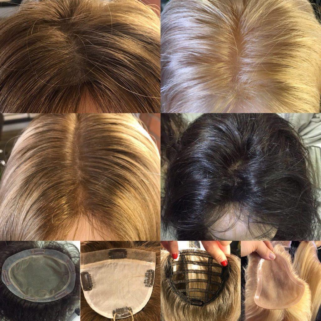 Накладки из натуральных волос