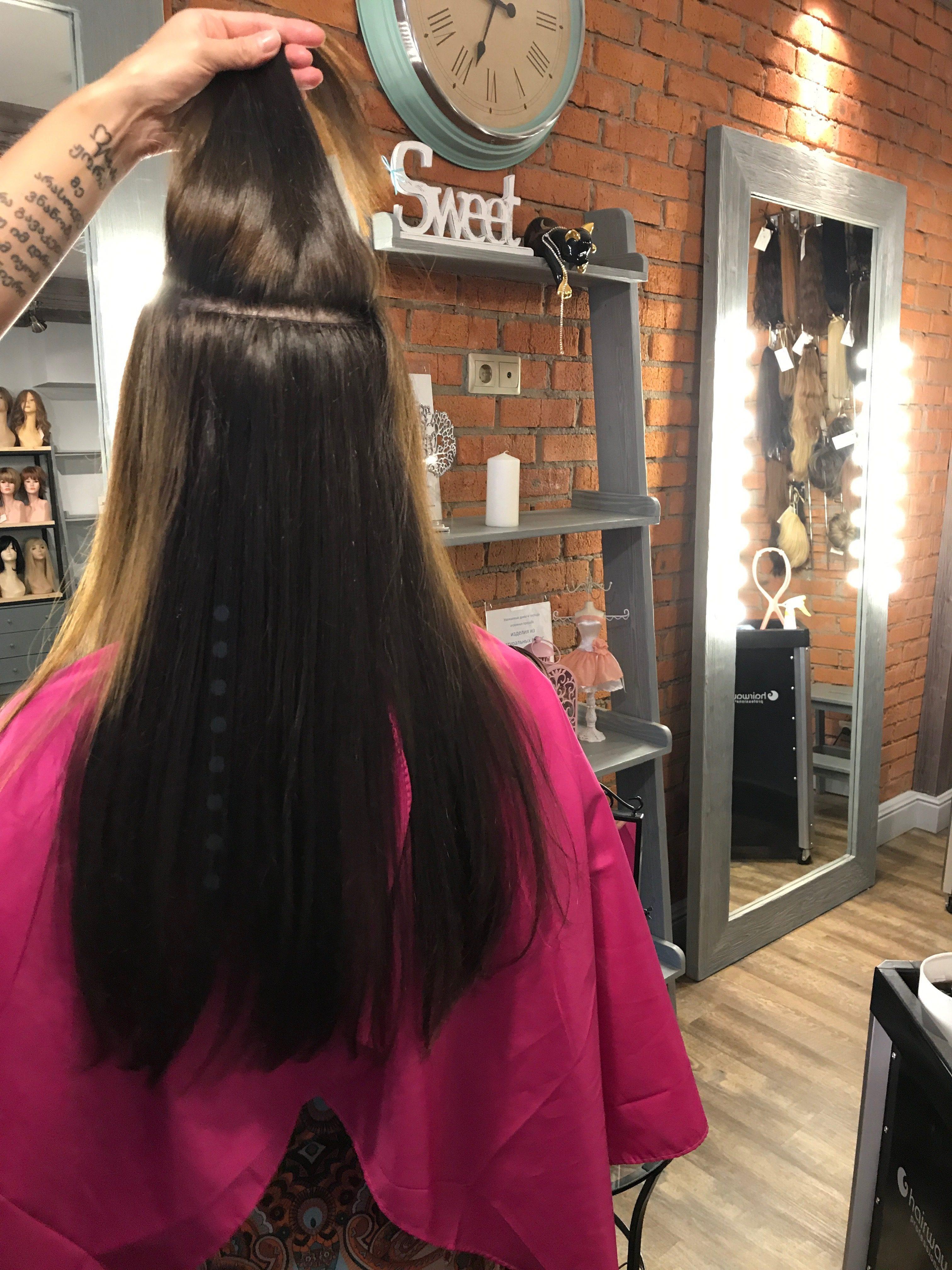 Тресс для голливудского наращивания волос 1