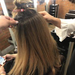Тресс для голливудского наращивания волос 7