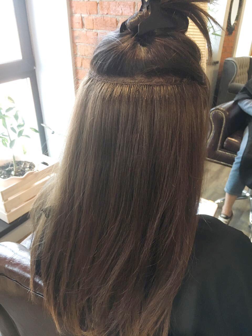 Тресс для голливудского наращивания волос 4